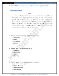 iBT TOEFL READING PRACTICE (2) - Learn English Test