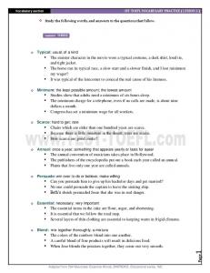 iBT TOEFL VOCABULARY PRACTICE ( LESSON 3 ) - Learn English ...