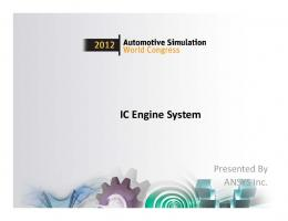 IC Engine System - Ansys