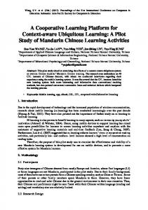 ICCE 2009 Publications Format - DSpace at National Normal Taiwan ...