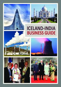 Iceland-India Business Guide - The Official Gateway to Iceland