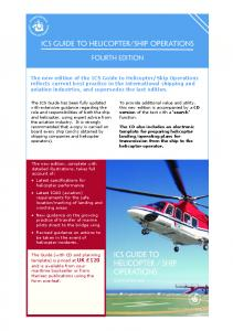 ICS GUIDE to HELICOPTER/SHIP OPERATIONS - International ...