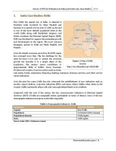ICT in Education: Case Study- West Bengal