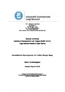 IDC - SSRN papers