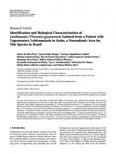 Identification and Biological Characterization of