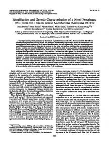 Identification and Genetic Characterization of a