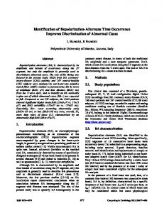 Identification of Repolarization-Alternans Time ... - IEEE Xplore