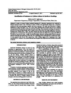 Identification of Resistance to Pythium ultimum in ... - Maxwell Science