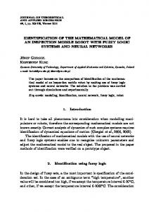 IDENTIFICATION OF THE MATHEMATICAL ... - Semantic Scholar