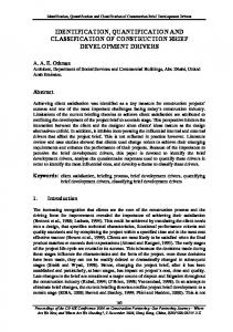 identification, quantification and classification of ...