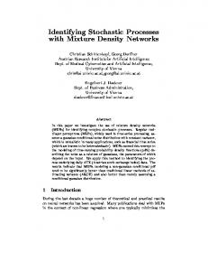 Identifying Stochastic Processes with Mixture ... - Semantic Scholar