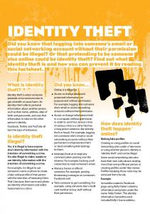 IdentIty theft - Lawstuff