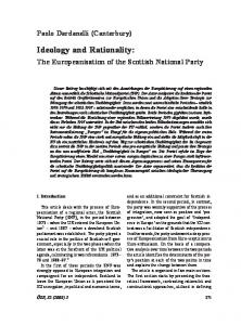 Ideology and Rationality - Core
