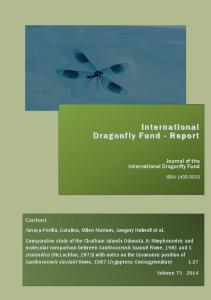 IDF-Report 75 (2014) - International Dragonfly Fund