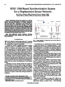 IEEE 1588-Based Synchronization System for a ... - IEEE Xplore