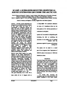IEEE Oceans '97 SCAMP Paper - Lamont-Doherty Earth Observatory