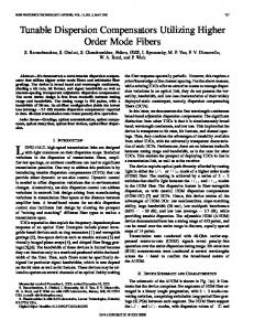 IEEE Photonics Technology Letters - OFS Optics