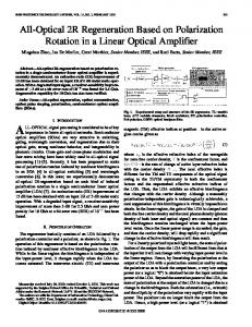 IEEE Photonics Technology Letters - Photonics Research Group