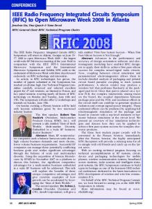 IEEE Radio Frequency Integrated Circuits Symposium ... - IEEE Xplore