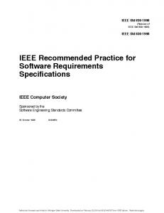 Kbs module specification template coventry university mafiadoc ieee software requirements specification template computer pronofoot35fo Choice Image