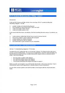 IELTS Academic Module preparation > Writing ... - Take IELTS