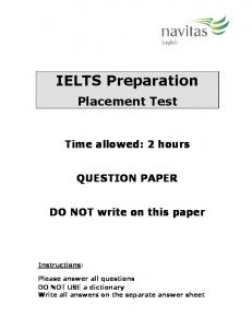 IELTS Preparation - Navitas English