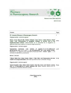 IFC (Journal of Pharmacy & Pharmacognosy Research).