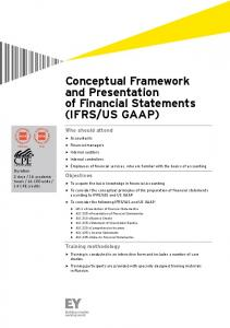 IFRS / US GAAP - Ernst & Young