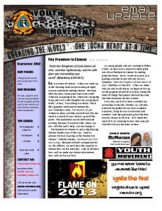 Ignite the fire! - Christian Motorcyclists Association