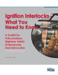 Ignition Interlocks - What You Need to Know