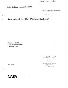 I%I/ SA - NASA Technical Reports Server (NTRS)