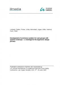 IJIE 2004 Paper Template
