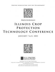 Illinois Crop Protection Technology Conference