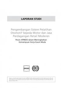 ILO-Apindo Pelatihan Otomotif ina.pmd - International Labour ...