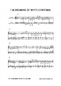 I`M DREAMING OF WHITE CHRISTMAS - my piano