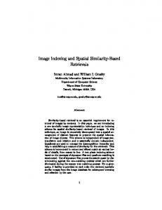 Image Indexing and Spatial Similarity-Based ... - Semantic Scholar