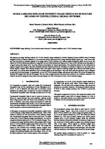 image labeling for lidar intensity image using k-nn of ... - ISPRS Archives