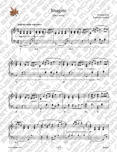 Imagine Sheet Music - Fariborz Lachini