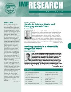 IMF Research Bulletin, March 2003