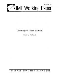 IMF Working Paper - SSRN papers