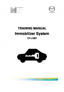 Immobilizer System