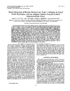 Immunosorbent Assay - Journal of Clinical Microbiology - American ...