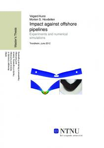 Protecting Offshore Pipelines Against Drifting Ice: A