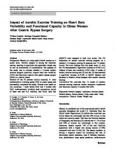 Impact of Aerobic Exercise Training on Heart Rate ... - Springer Link