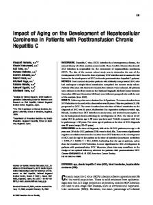Impact of aging on the development of ... - Wiley Online Library