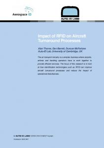 Impact of RFID on Aircraft Turnaround Processes