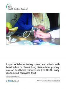 Impact of telemonitoring home care patients with heart failure or ...