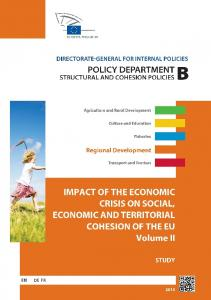 Impact of the Economic Crisis on Social, Economic and Territorial ...