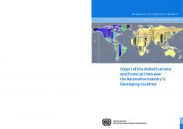 Impact of the Global Economic and Financial Crisis over the ...