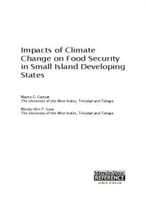 Impacts of Climate Change on Food Security in Small ...
